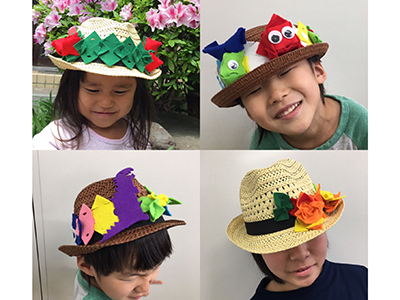 エフパズル「かぶらない帽子」屋さん