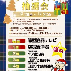 プロメナ神戸クリスマス抽選会
