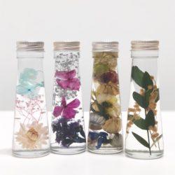 HDC神戸「美しいお花を小さなビンに閉じ込めて『ハーバリウムワークショップ』」