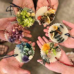 HDC神戸「香りを楽しむインテリア!『アロマボタニカルサシェワークショップ』」