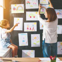 HDC神戸「ママのアートライフでみんなをhappyに!子供のアートをお家に素敵に飾ろう」